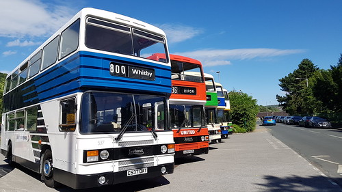 Olympians at Saltaire bus rally last Sunday :)