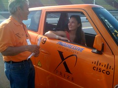 My partner @Alias_Amanda gets up close & personal with Team Tango today #PIAXP