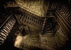 The Ancient Staircase (Batram) Tags: urban castle beauty germany deutschland for thringen sale euro decay thuringia villa mansion rent exploration chteau urbex auerbach 1000000 saalfeld 1million contactme