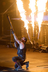 Rammstein live at Rock in Rio Lisboa (Rui M Leal) Tags: portugal concert artist lisboa lisbon live stage performing german pyro day5 rammstein prt rockinrio rockinriolisboa ruimleal ruileal rockinriolisboa2010 ruimlealphotography
