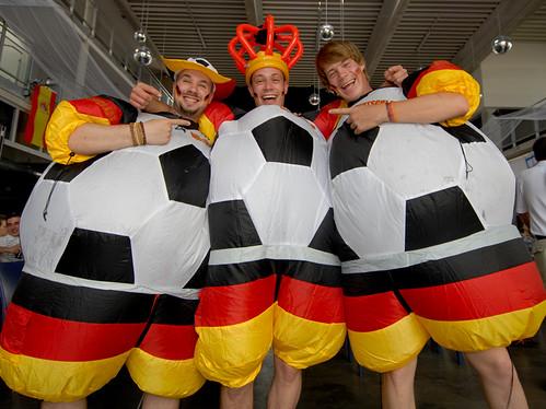 Public Viewing G5 Deutschland-England