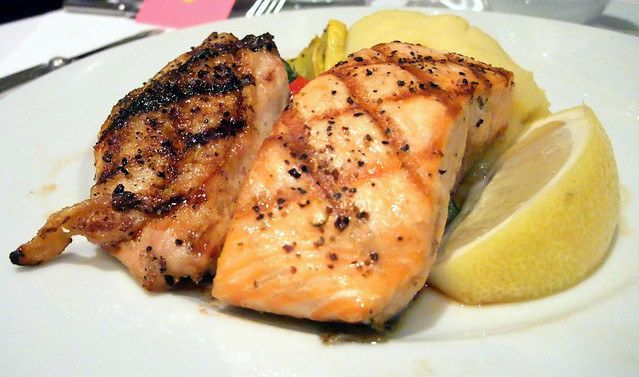 Chicken and Salmon