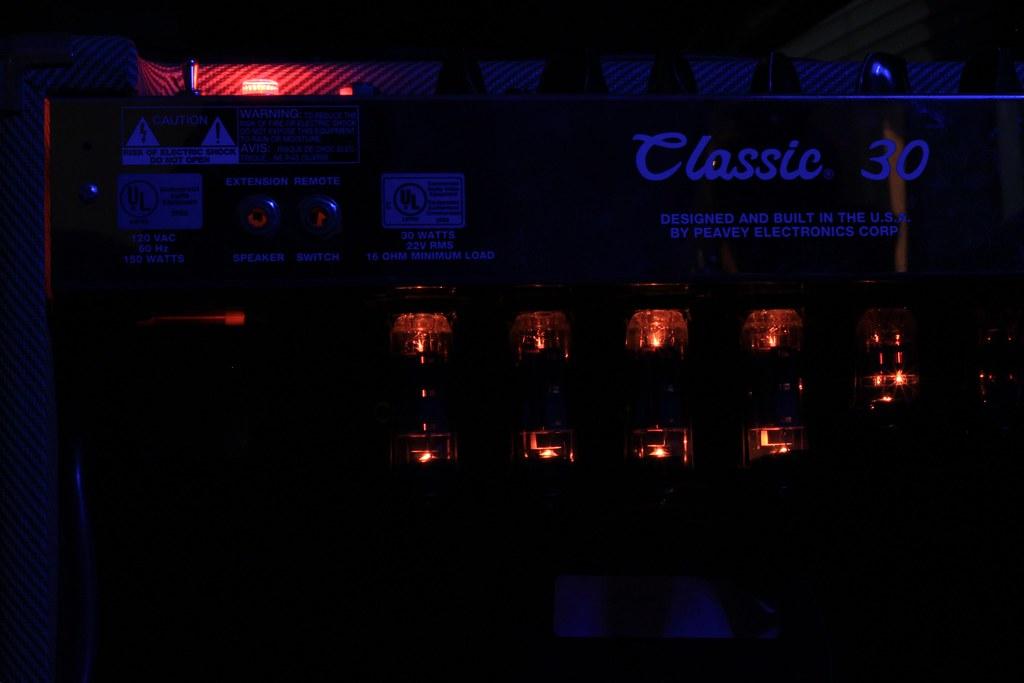 Peavey Classic 30 Vacuum Tubes