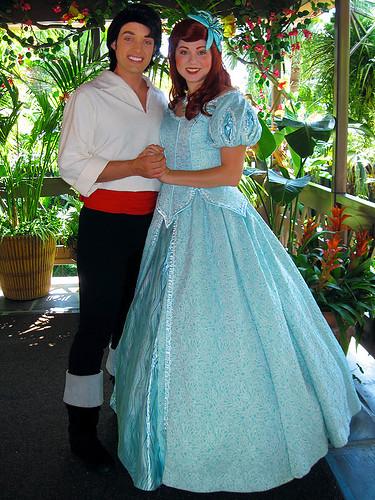 Prince Eric Disney World