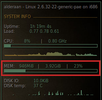 Ubuntu 10.10 generic-pae kernel vs. 4GB