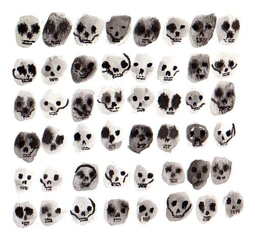 sloppy baby skulls