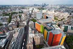 St Giles View (cybertect) Tags: building london skyline architecture renzopiano canonef1740mmf4lusm paramount centrepoint cityoflondon newoxfordstreet wc1 londonwc1 canoneos5d stgilescourt centralstgiles centralsaintgiles