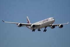 A7-AGC - 766 - Qatar Airways - Airbus A340-642 - 100617 - Heathrow - Steven Gray - IMG_4587