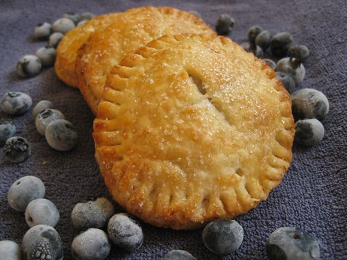 Blueberry pockets 1