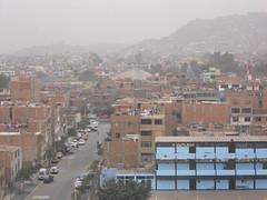 Lima gris en San Borja