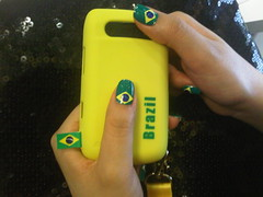Worldcup Minx Nails (Tooma Nails Salon (Bahrain)) Tags: brazil west bahrain nails salon worldcup  riffa  tooma