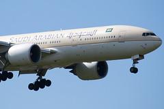 HZ-AKG - 28350 - Saudi Arabian Airlines - Boeing 777-268ER - 100617 - Heathrow - Steven Gray - IMG_5482