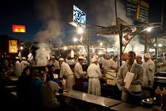 Djemaa El-Fna (joshuaphilippesy) Tags: travel food market morocco marrakech medina stalls morrocco djemaaelfna moroccotravelafrica