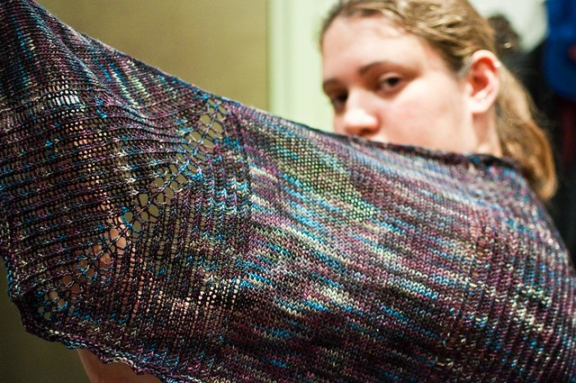 Herbivore Shawl - FINISHED