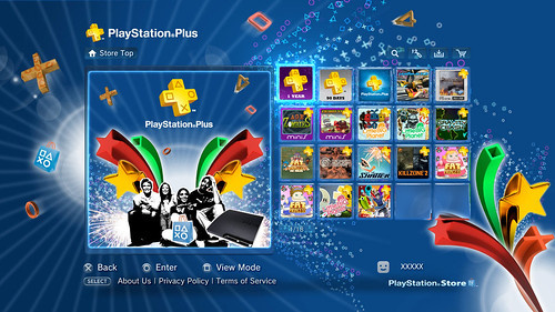 PS3 System Software Update v3 40 And PlayStation Plus