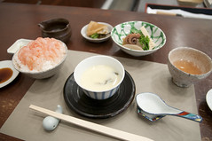 南蛮エビ丼, 日本料理 蘭, 新潟