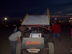107_0335 (bruce98driver) Tags: park car fast racing fremont 98 dirt bryan and title sprint flipper 2010 attica raceway sabeto robenalt team98