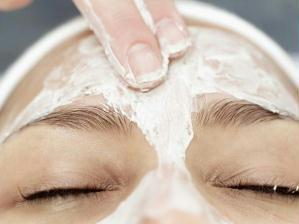 peeling caseiro para o rosto