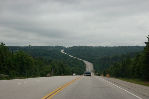 This is what NS103 looks like, all the way across the province.