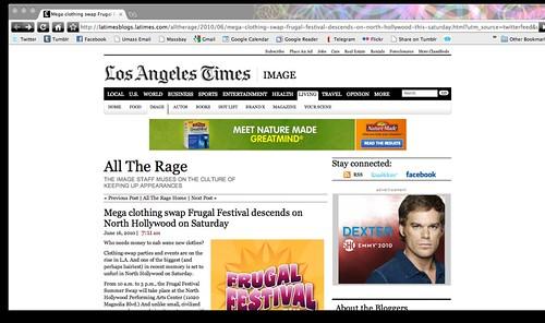LA Times Press