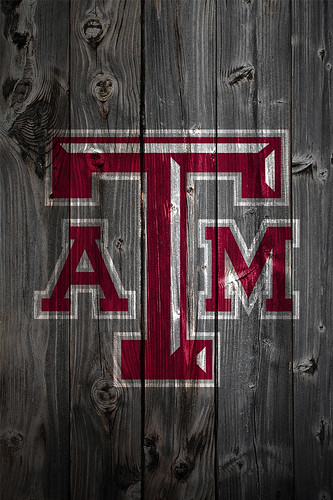 Texas A M Aggies Wood Iphone 4 Background A Photo On