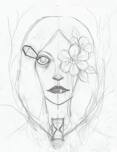 flowereye1sketch