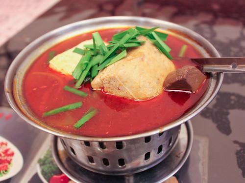 麻辣臭豆腐 (mala stinky tofu)