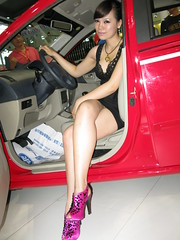 2010 Shenzhen International Auto Show (zikay's photography(no PS)) Tags: girl model exhibition