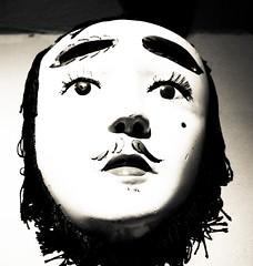 Mascara (teacherjoseluis) Tags: mexico mask noiretblanc zacatecas mascara museo rafael coronel