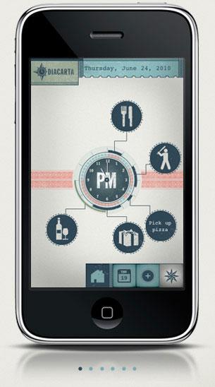 iPhone app - Diacarta