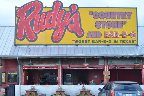 Rudy's Bar-B-Que ~ Austin, TX