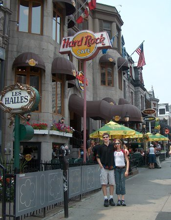 Will and Christina in Montreal during a Family Trip after the 2003 Lake Placid Ice Dance Championships