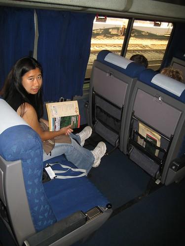 Ultimate Car Seat Travel Bag Video Rating 0 5 Amtrak Coast Starlight Coach Seats