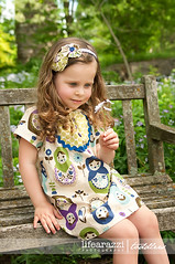 Matryoshka Baby Doll Peasant Dress (Palm Tree Princess) Tags: dress farmersmarket skirt kimono amybutler russiannestingdoll boutiqueclothing matyroshka pillowcasetop rufflecapris leanika plainjanefabric woodlanddelightfabric