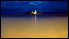 night shot colour (no alteration in saturation) (jonstraveladventures) Tags: longexposure reflection night croatia adriatic awter trpanj