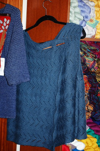 Sideways Linen Vest