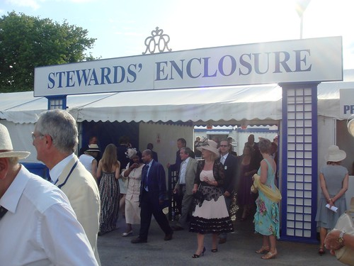 Stewards Enclosure at Henley Royal Regatta