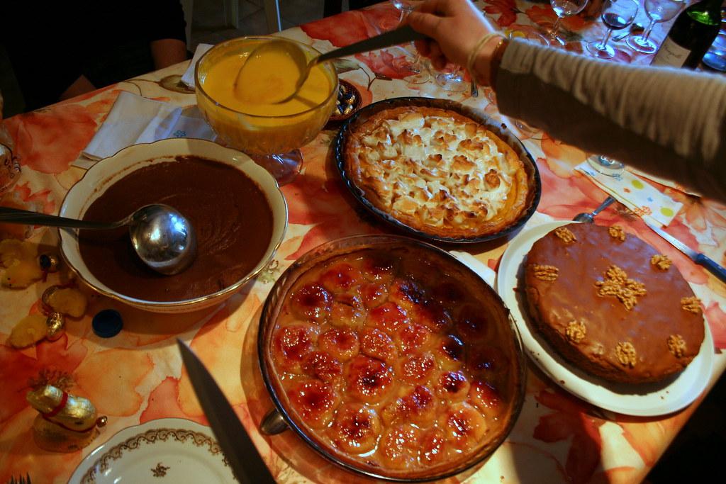 Gateaux francais !! repas de famille