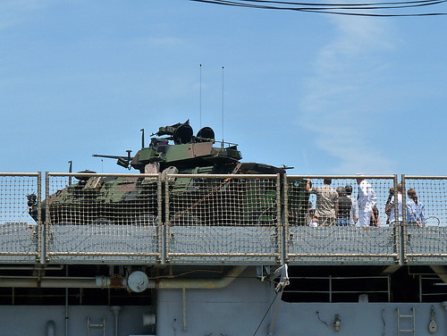 Touring the Light Armored Vehicle