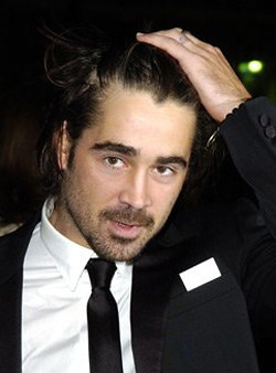 Colin-Farrell hand on hair