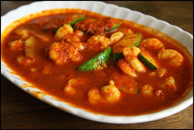 sambal-prawns