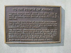 Kiribati: A Nation of Atolls (tanwc) Tags: islands waves wwii lagoon beaches worldwar kiribati micronesia tarawa micronesian centralpacific gilbertislands betio bairiki biretawa