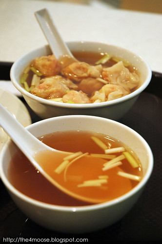 Mak's Noodle 麥奀雲吞麵世家 - Soup and Soup with Wanton
