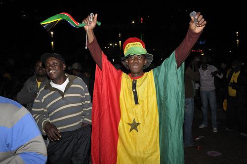 Fan Fest - Ghana v Uruguay
