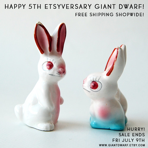 Giant Dwarf Etsyversary Sale // Free Shipping Shopwide
