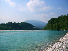CIMG3377 Il fiume Tagliamento a Villuzza (pinktigger) Tags: italy water river landscape fiume friuli tagliamento