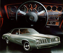 1973 Pontiac Grand Am Colonnade Coupe (coconv) Tags: auto door old 2 art classic cars hardtop car illustration truck vintage magazine cards am flyer automobile post antique album postcard ad grand advertisement vehicles card postcards vehicle trucks pontiac autos collectible collectors brochure coupe 1973 v8 automobiles 73 colonnade dealer prestige