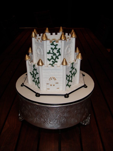 Mossy S Masterpiece Medieval Castle Wedding Cake A Photo On