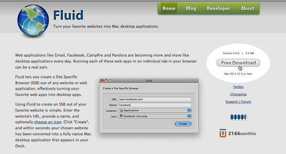 Fluid for Mac