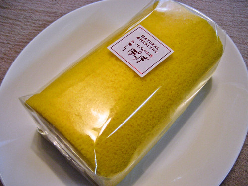 Sweet Potato and Mango Roll Cake from Rapoppo